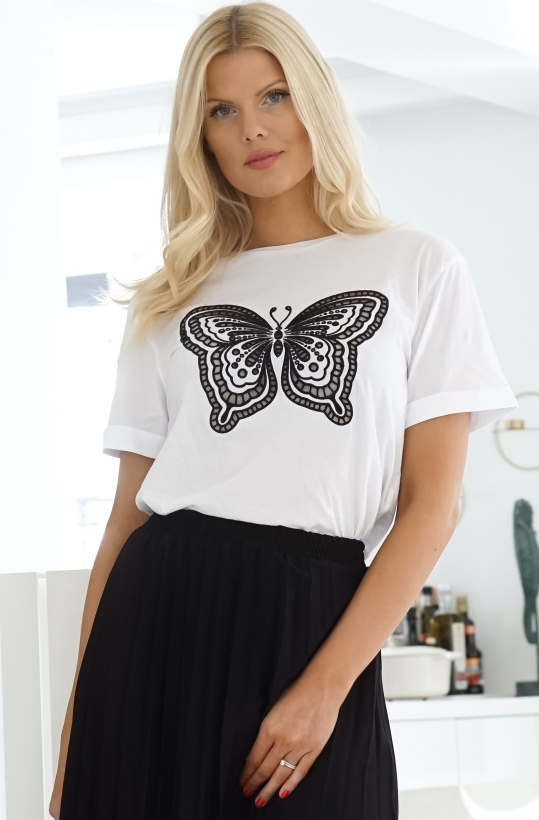 TWINSET - Butterfly Tshirt