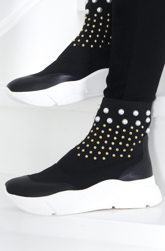 TWINSET - Knit Runningshoes - Studs & Pearls