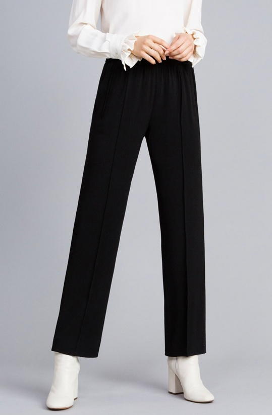 TWINSET - Envers Satin Palazzo Trousers