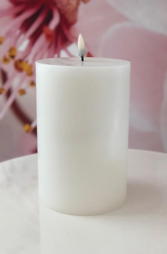 UYUNI - Pelarljus LED - VIT - 10,1 x 18 cm