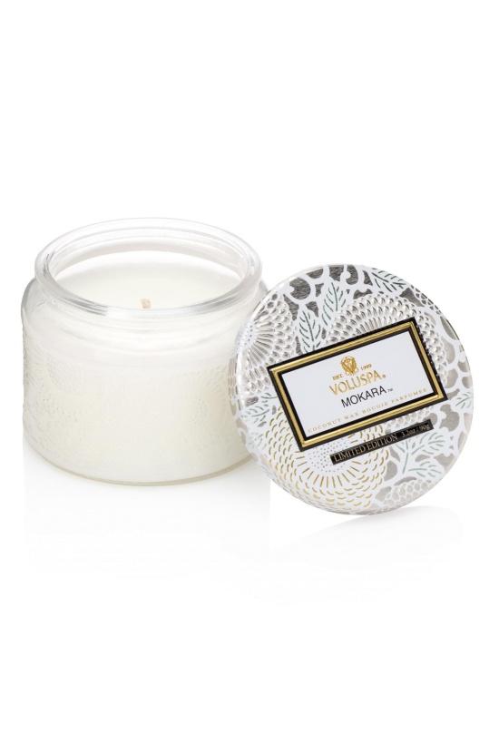 VOLUSPA - Mokara Small Glass Jar Candle