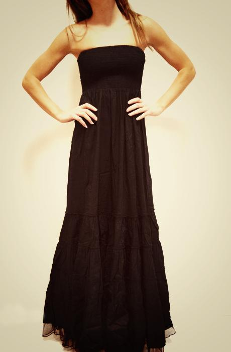 Pure love maxi Dress Black