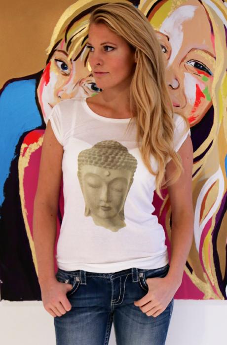 Buddha Tshirt Karma Plain