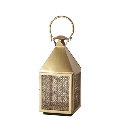 LANTERN - Guld med nät