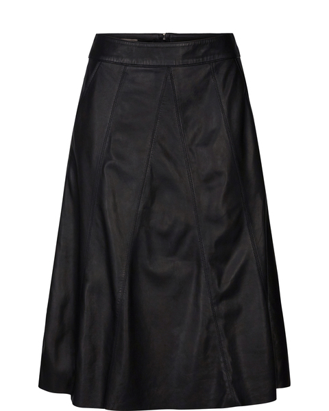 MOS MOSH - Agnes Leather Skirt