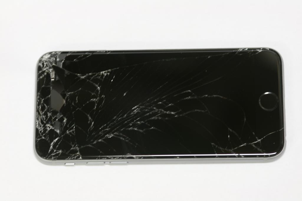 glasbyte med ersättnings LCD