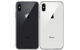 iphone xs/ glasbyte baksidan