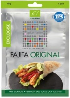 Fajita, 40 G, ekologisk