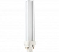 Kompaktlysrör PL-C D/E 4-stift G24q-3, 26W-830