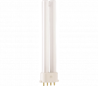 Kompaktlysrör PL-S/E 4-stift 2G7, 9W-840