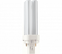 Kompaktlysrör PL-C D 2-stift G24d-1, 10W-827