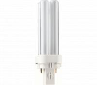 Kompaktlysrör PL-C D 2-stift G24d-1, 10W-840