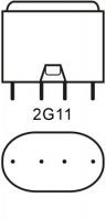 Philips LED 2G11 Kompaktlysrör 16,5W / 830 (Ersätter: 36W 2G11)