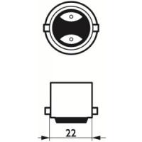 Philips LED Master 8,5W (60W) B22 827 Dimbar (Dimtone)