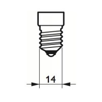 Philips LED Filament 5W (40W) E14 827 Dimbar