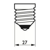Philips LED Filament 8W (60W) E27 827 Dimbar