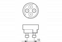 Philips CDM-RM 20W 830 Mini 10D (MASTERColour)