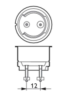 Philips CosmoWhite CPO-TW 45W 628 PGZ12 (MASTER)