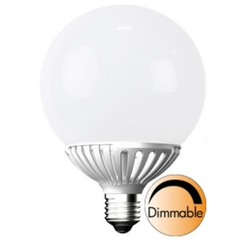 Globlampa 10W (60W) Ø120 Dimbar LED E27 Opal