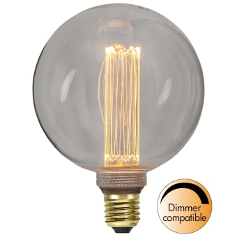 Globlampa 2,5W Ø125 Dimbar New Generation LED 90lm E27
