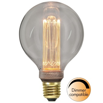 Globlampa 2,5W Ø95 Dimbar New Generation LED 90lm E27