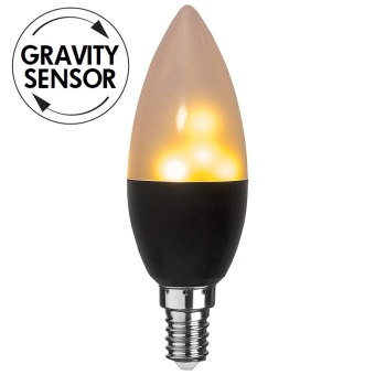 Flame Lamp 0,8-1,2W LED Gravity 18lm E14