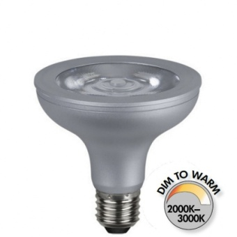 Spotlight Par30 10W (70W) Dimbar LED COB Dim to Warm 630lm E27