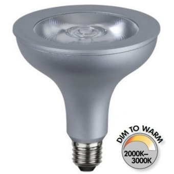 Spotlight Par38 15W (92W) Dimbar LED COB Dim to Warm 850lm E27