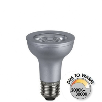 Spotlight Par20 7W (51W) Dimbar LED COB Dim to Warm 380lm E27