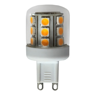 Stiftlampa 2,6W (22W) LED G9 25.000 tim