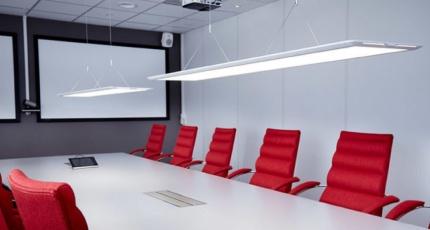 Armaturer och belysning för företag