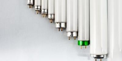 Bild på olika lysrör