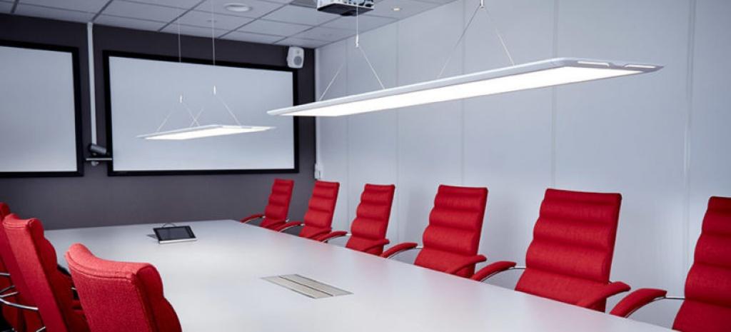 Kontorsarmaturer LED