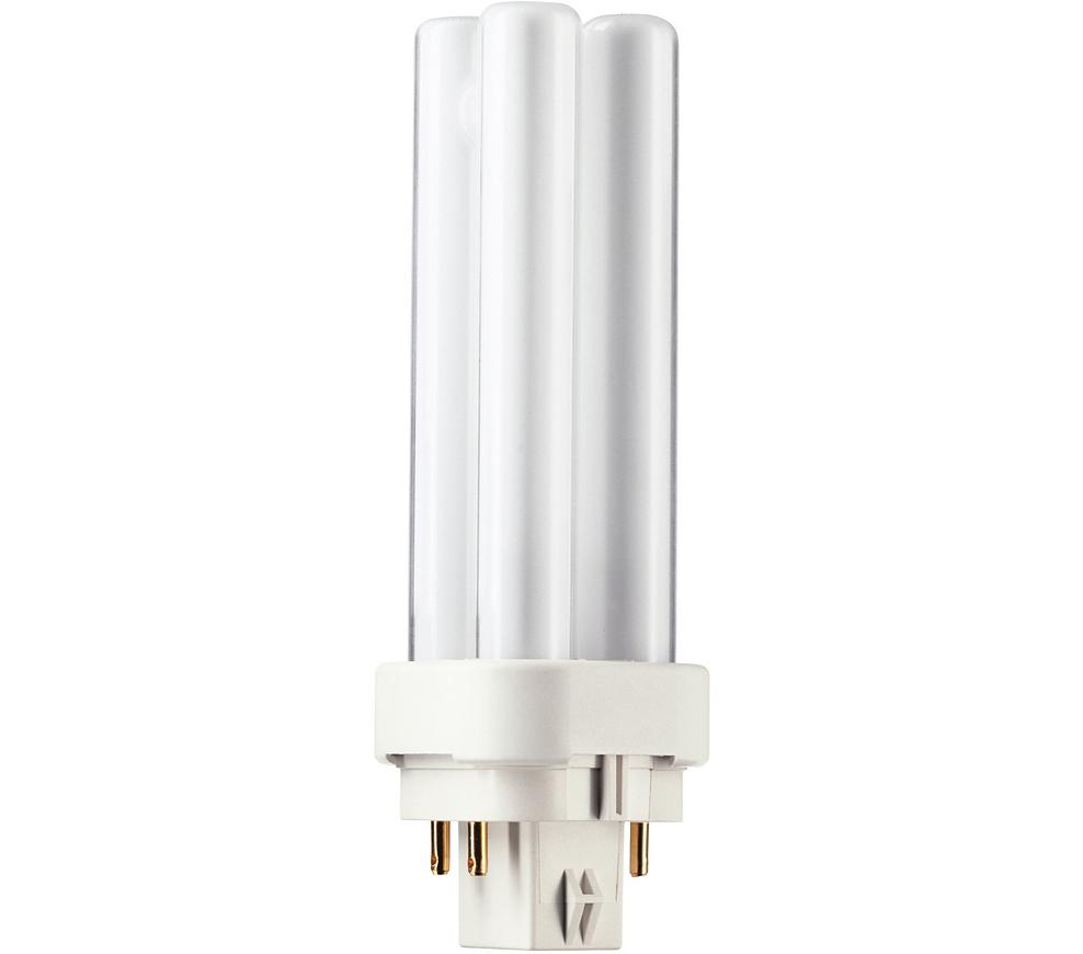 Kompaktlysrör PL-C D/E 4-stift G24q-1, 10W-830