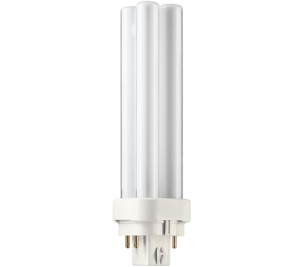 Kompaktlysrör PL-C D/E 4-stift G24q-1, 13W-830