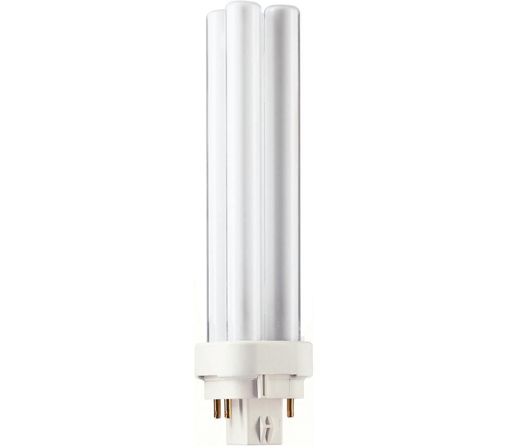 Kompaktlysrör PL-C D/E 4-stift G24q-2, 18W-840