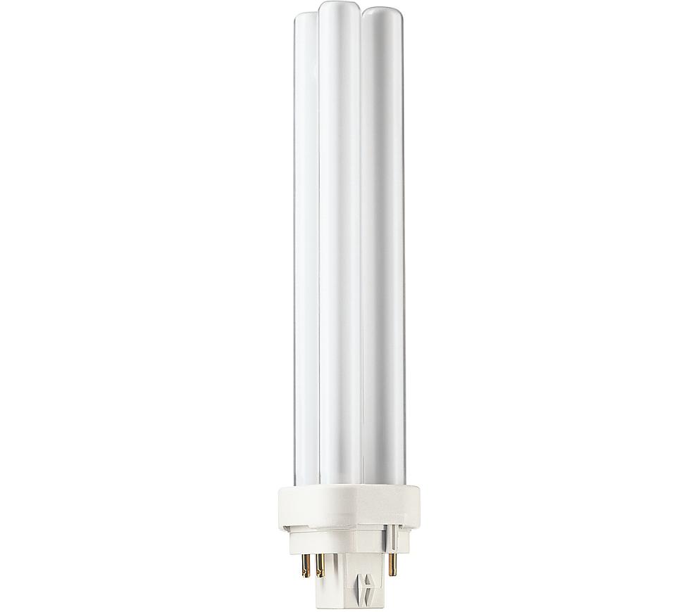 Kompaktlysrör PL-C D/E 4-stift G24q-3, 26W-827