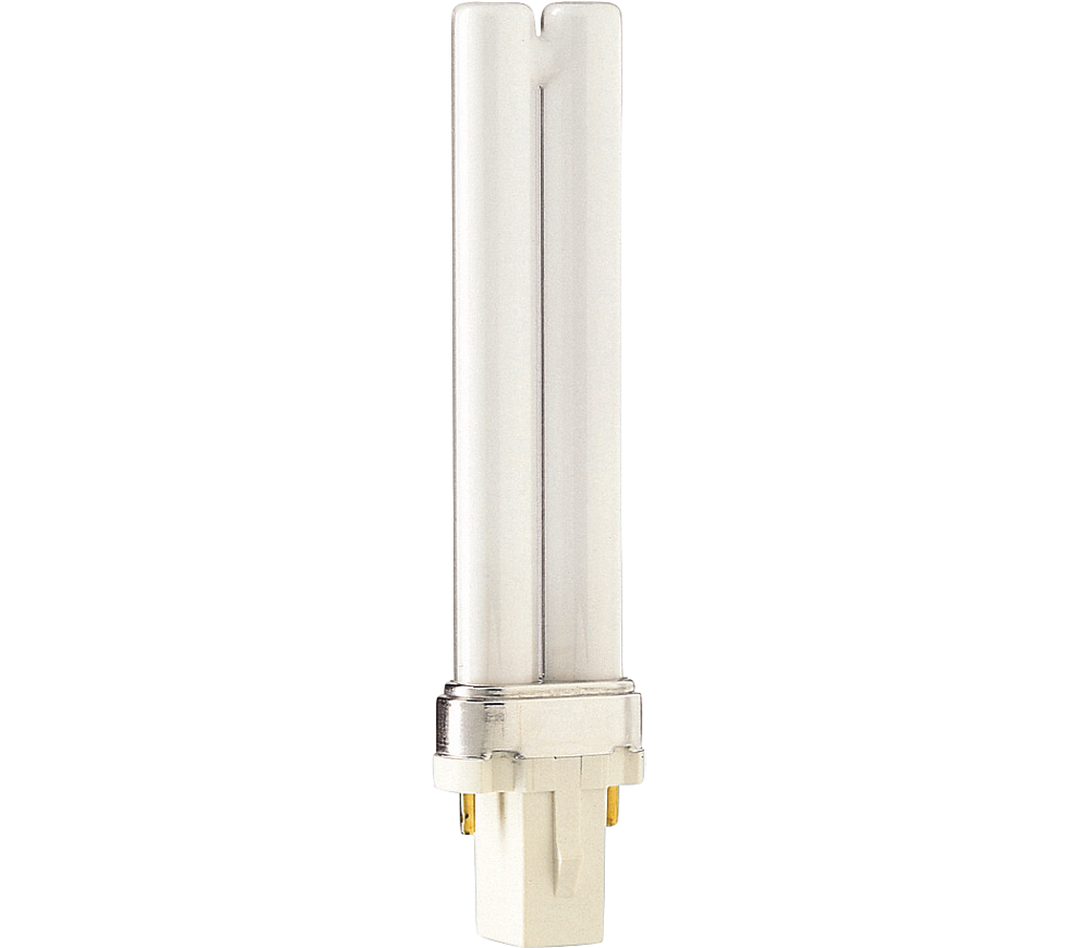 Kompaktlysrör PL-S 2-stift G23, 7W-840