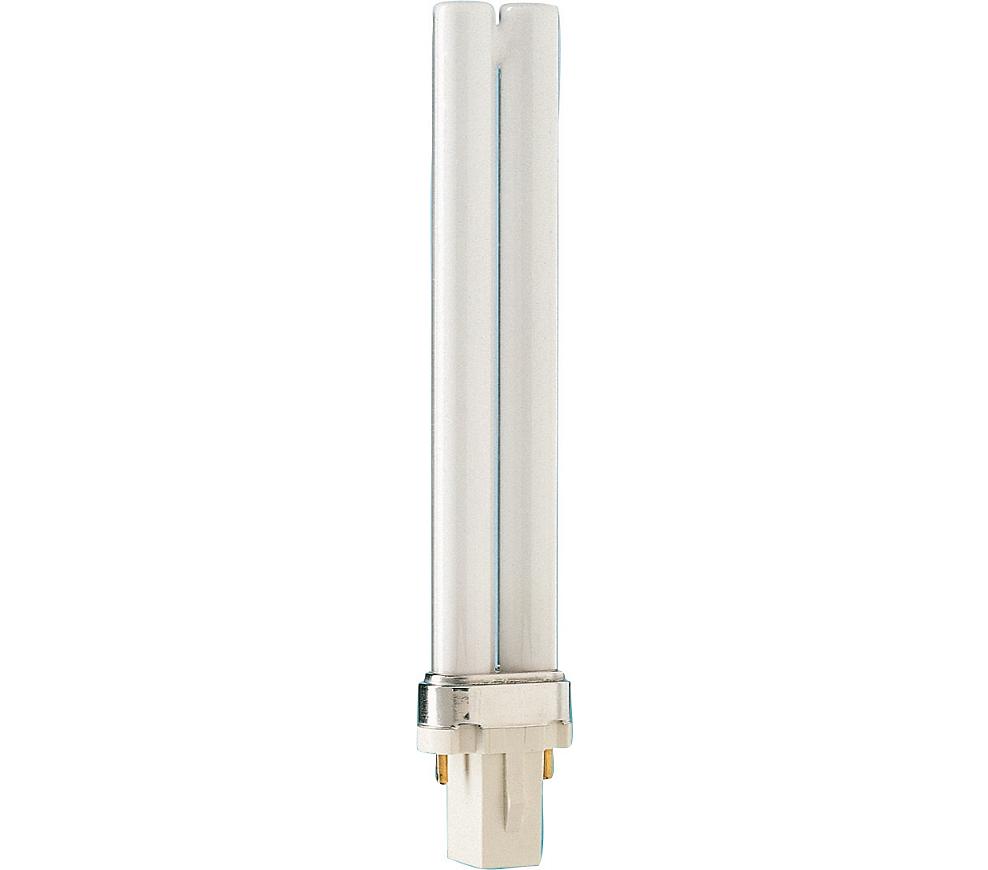 Kompaktlysrör PL-S 2-stift G23, 9W-840