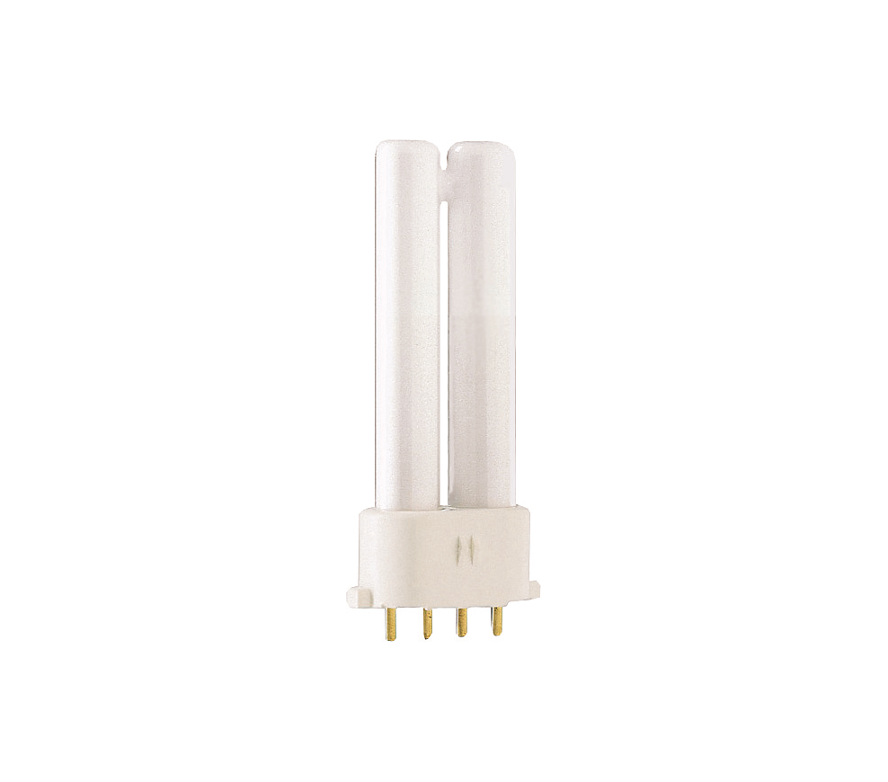 Kompaktlysrör PL-S/E 4-stift 2G7, 5W-827