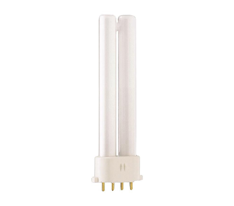 Kompaktlysrör PL-S/E 4-stift 2G7, 7W-827