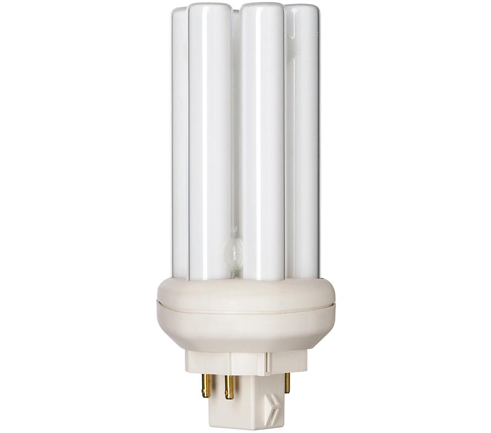 Kompaktlysrör PL-T/E 4-stift GX24q-2, 18W-840