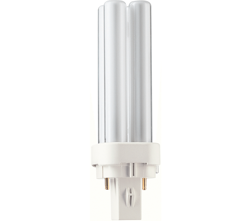 Kompaktlysrör PL-C D 2-stift G24d-1, 10W-830