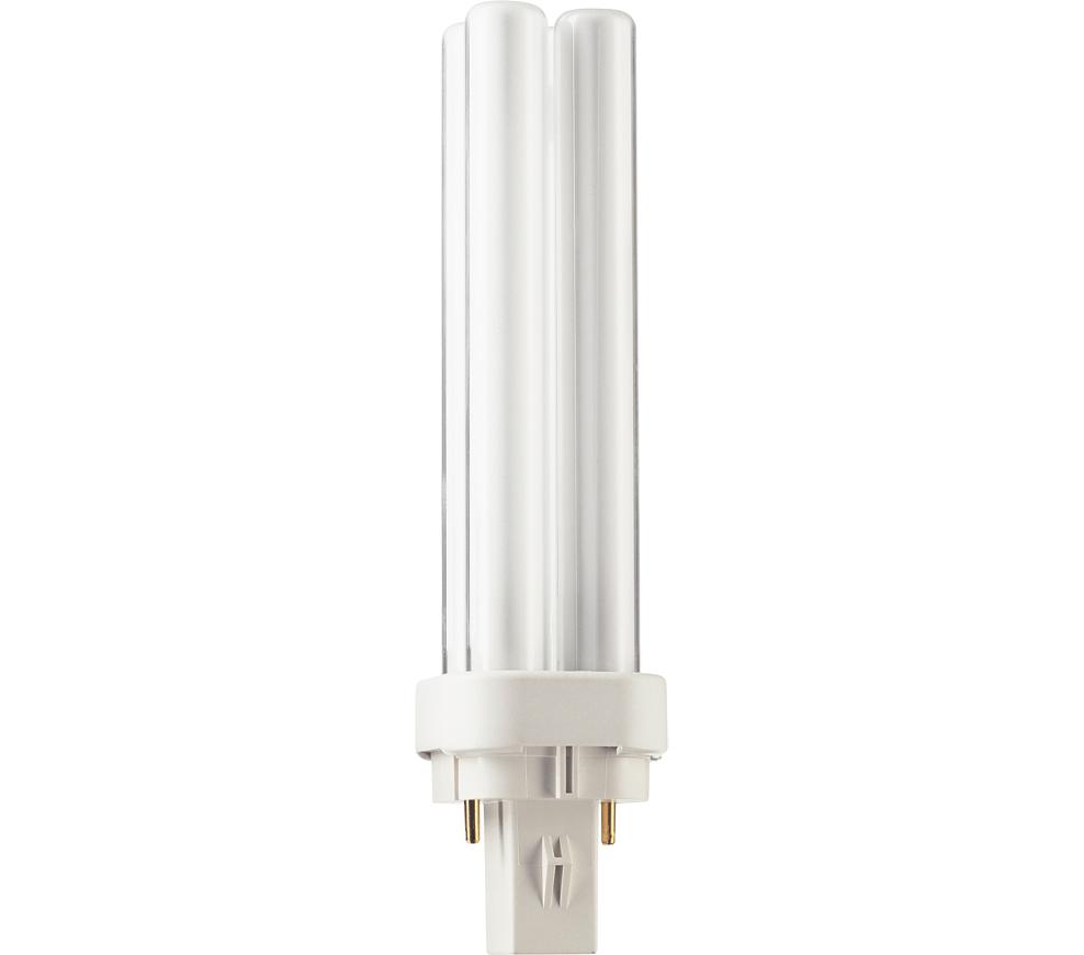Kompaktlysrör PL-C D 2-stift G24d-1, 13W-840