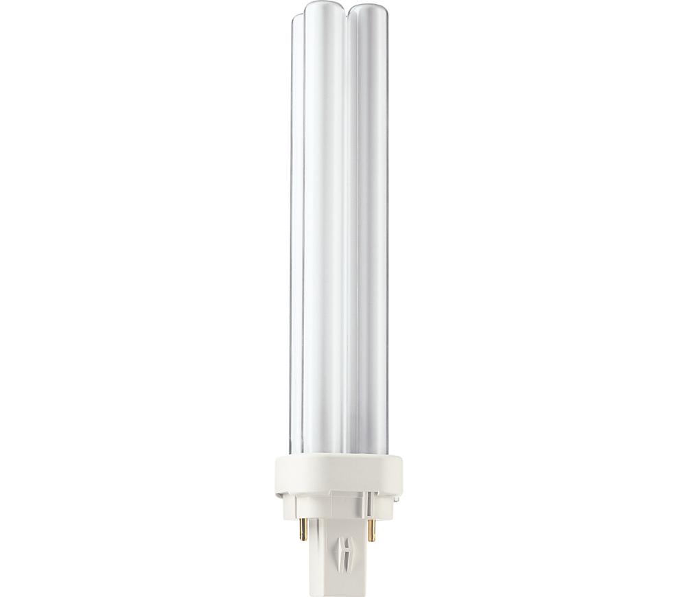 Kompaktlysrör PL-C D 2-stift G24d-3, 26W-830