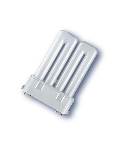 Kompaktlysrör PL-F 4-stift 2G10, 18W-830