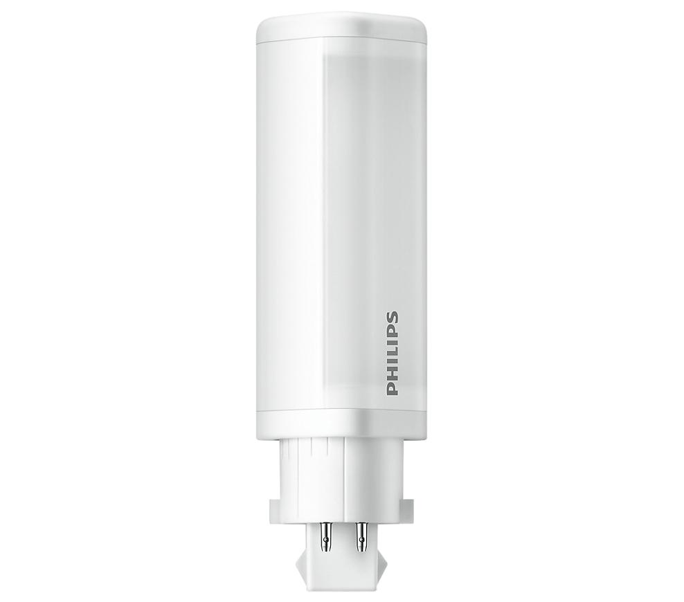 Philips LED G24q-1 Kompaktlysrör 4,5W / 830 (Ersätter: 10W & 13W G24q-1)