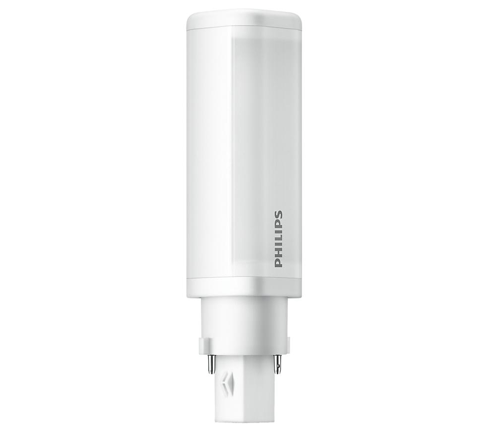 Philips LED G24d-1 Kompaktlysrör 4,5W / 840 (Ersätter: 10W & 13W G24d-1)