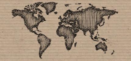 SOS Barnbyar Världskarta