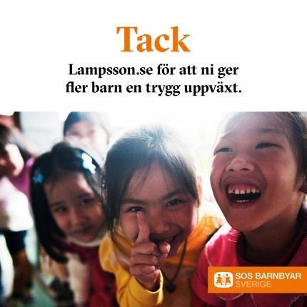 SOS Barnbyar Tack Lampsson.se